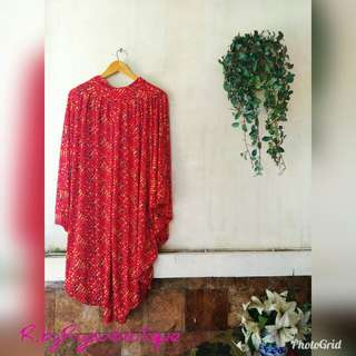 🚫SALE🚫 Red Alladin Pants Big Size
