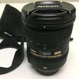 Nikon Nikkor DX 18-200mm ED VR II