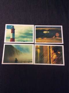 BN Happy Together postcards post cards X 4pcs Wong Kar Wai