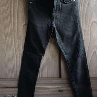 Zara Trafalic Black Skinny Jeans