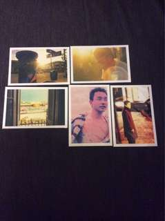 BN Happy Together post cards postcards X 5pcs Wong Kar Wai