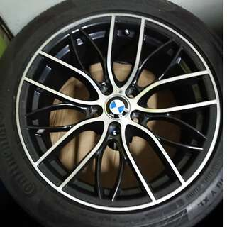 18 inch BMW rims + tyres