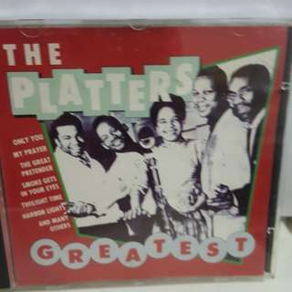 cd English The Platters