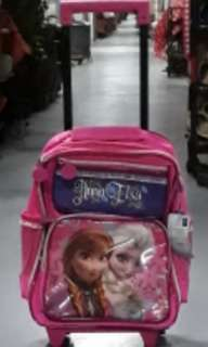 Anna and Elsa Frozen trolley bag