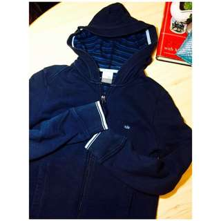 Nike Navy blue Jacket Sport coat 名牌 Nike 運動 外套 風褸