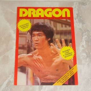 Dragon Magazine Bruce Lee 1974 李小龍 UK Angela Mao Tamara Dobson Cleopatra Jones Hong Kong