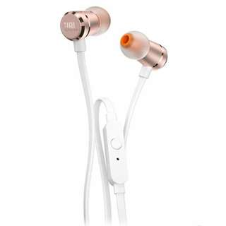 JBL T290 In-ear Headphones in Rose Gold