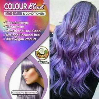 colour blend hair color and conditioner