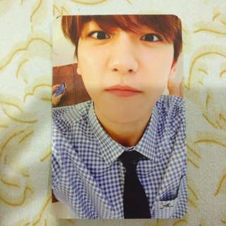 EXO Baekhyun - Exodus Korean ver. (White)  Photocard