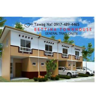 Rent To Own Bettina Townhouse Murang Pabahay Sa Gen Trias Cavite Bria Homes Executive
