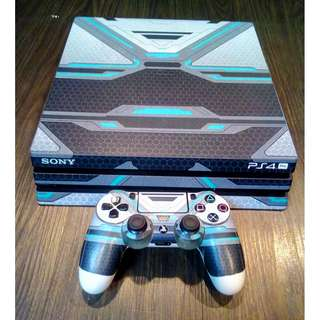 Customize PS4 Pro Gaming Console Skins