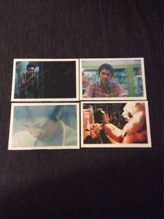 BN Chungking Express post cards postcards X 4pcs Wong Kar Wai