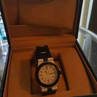 Bulgari black rubber  boy's size watch