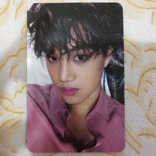 EXO Kai - Sing For You Chinese ver. (Black) Photocard