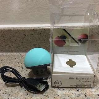 Mushroom mini bluetooth speaker