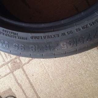 MAX Continental 2nd hand tires