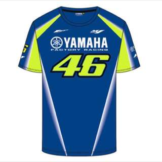 2018 Valentino Rossi MotoGP FOR YAMAHA M1 R6 Factory Jersey Motor Sports T-Shirt moto racing jersey shirt