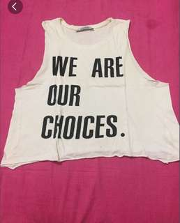 Croptop by pull and bear