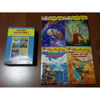 Geronimo stilton  collections