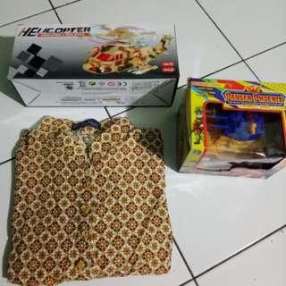 Paket helicopter&panser phoenix gratis batik pekalongan