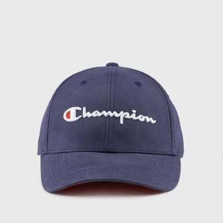 INSTOCK Champion Logo Baseball Cap Indigo