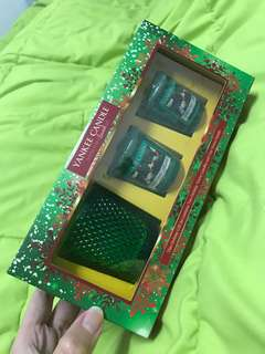 BN Yankee candles holiday gift set