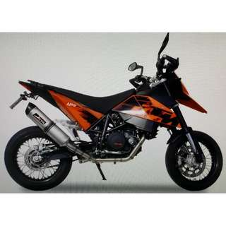Devil Exhaust Systems Singapore KTM 690 SM Ready Stock ! Promo ! Do Not PM ! Kindly Call Us !