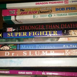 Sale komik n novel