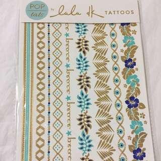 Pop Tats Fashionable Tattoos