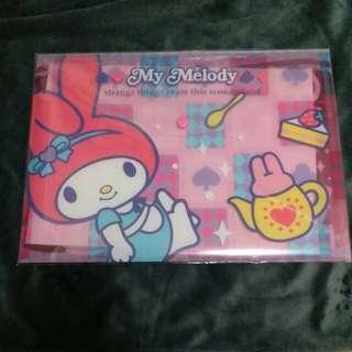 Sanrio My Melody 有鈕文件套 2011年