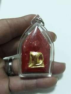 Amulet= Phra khun paen Master=Lp Sangga Temple =Wat BangMor  year=Be2546