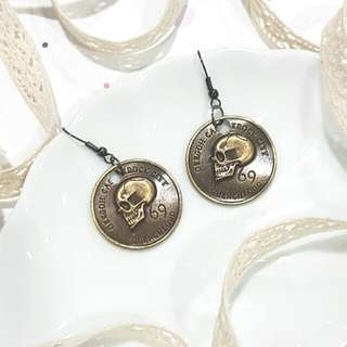 • Pirate's Gold • Handmade Earrings •