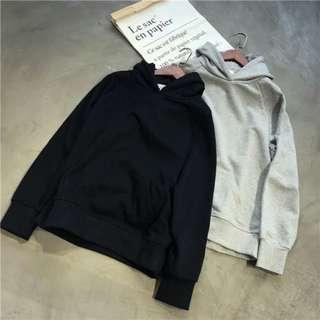 BW #15 • unisex plain hoodie
