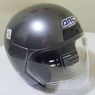 1203** ARC Astro GREY Helmet For Sale 😁😁Thanks To All My Buyer Support 🐇🐇 Yamaha, Honda, Suzuki