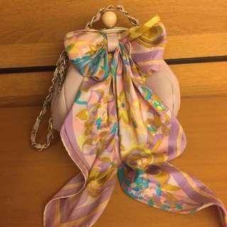 🚚 二手-倫敦復古絲巾品牌包