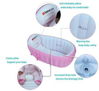 Intime Inflatable BathTub - Pink