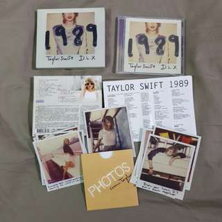 Taylor Swift 1989 Deluxe Taiwan Edition