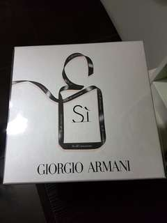 Giorgio Armani Si eau de  parfum box set (50ml + 15ml) + 75ml perfumed body lotion