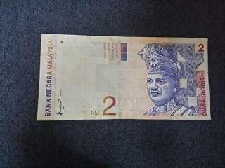 OLD 2MYR (RM2)