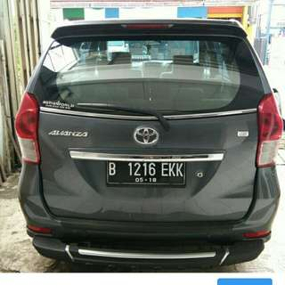 Toyota Avanza G Manual 2013 grey