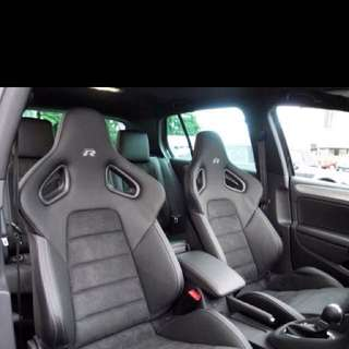 Original Golf R recaro seats
