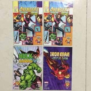 Marvel Comics by Nestle