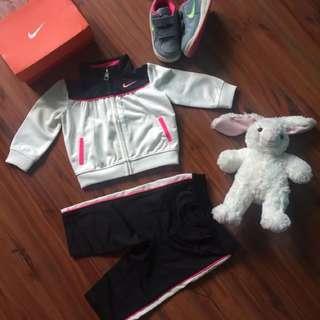 Sport wear baby girl