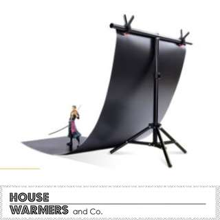 Product Photography PVC Backdrop + Stand