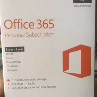 Microsoft office 365 for Windows or Mac