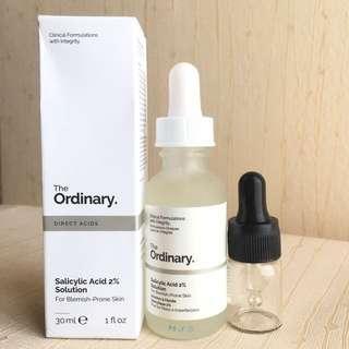 THE ORDINARY salicylic acid (5ml)