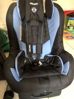 Recaro euro river carseat