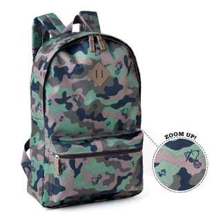 Camo Wind Snoopy Backpack