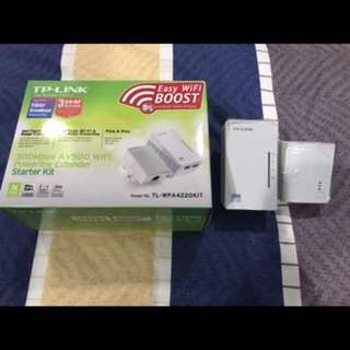 TP-Link Wifi Extender Powerline 300mbps