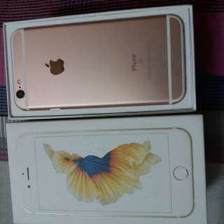 Iphone 6s rosegold 64gb myset ws0126573800
